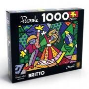 Romero Britto Puzzle 1000 peças Romero Britto - Brazil