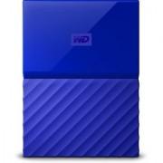WD My Passport 1TB Hard Drive (Blue)