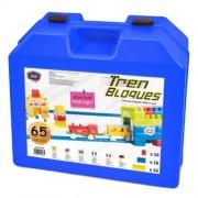 Game Movil - 2080731 - Blocs Blockis Avec Train - 65 Pièces
