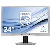 "Philips 241B4LPYCS silver B-Line Monitor 24"", Nero"