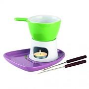Tognana Contenant pour chocolat avec plateau 6 pièces, couleur verte