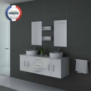 Distribain Meubles salle de bain DIS747B blanc