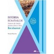 Sinteze de istorie clasa a 12-a istoria romanilor - Niculae Paraschiv