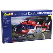 Revell 04897 - Airbus EC145 DRF Luftrettung Kit di Modello in Plastica Elicottero, Scala 1:32