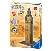 Ravensburger Italy 12586 - Puzzle 3D Big Ben con Orologio Funzionante