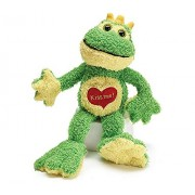 """Kiss Me"" Plush Kissing Frog"
