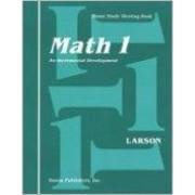 Saxon Math 1 Meeting Book First Edition by Larson