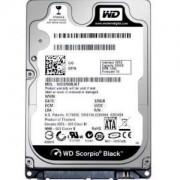 HDD 500GB SATAIII 2.5 WD Black 7200rpm 16MB 7mm slim - WD5000LPLX