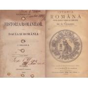 J. Heliade R. - Elemente de historia romanilor sau Dacia si Romania / Istoria romana pentru scolile primare de ambe-sexe