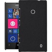 Lumia 525 Case, QUICKSAND [Extra Slim Fit] Hybrid rubberized Protective Hard Case for Nokia Lumia 525 (Denim Black)