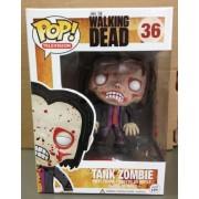 Funko POP Television Walking Dead: Blood Spattered Tank Zombie Vinyl Figure