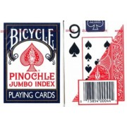 Large Print Pinochle Playing Cards - 2 Deck Gift Set