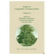 Studies in Comparative Germanic Syntax: v. II by H