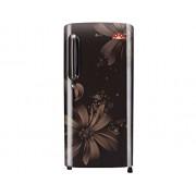 LG 190 L 5 Star Direct-cool Refrigerator (GL-B201AHAN.AHAZEBN, Hazel Aster)