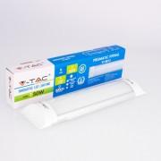 Armadura compacta LED 10W 30cm Luz Quente 800Lm SLIM