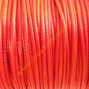 Agodon encerado brillo rojo 1mm (precio por metro)