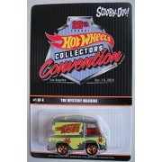 HOT WHEELS 28TH ANNUAL HOT WHEELS COLLECTORS CONVENTION LOS ANGELES SCOOBY-DOO! THE MYSTERY MACHINE DIE-CAST by Mattel