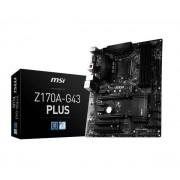 MSI Z170A-G43 PLUS - Raty 40 x 15,47 zł