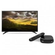 LG 43LH604V 43'' Full HD Smart TV Wi-Fi Nero LED TV + NOW TV Box