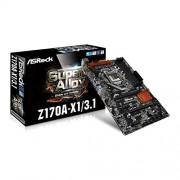 ASROCK z170 a-x1/3.1 Intel a Plus C Skylake scheda madre ATX