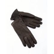 Walbusch Ziegennappa Herren Handschuhe Braun 8,5