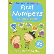 First Numbers: A Pirate Pete and Princess Polly sticker activity book by Ladybird