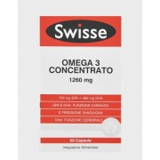 SWISSE OMEGA 3 CONCENTRATO 1260mg 60 Capsule