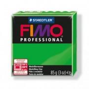 Gyurma, 85 g, égethető, FIMO Professional, zöld