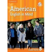 American English in Mind Starter Combo B with Dvd-rom by Herbert Puchta
