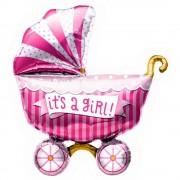 "Balon folie figurina ""It's a girl"" - 102cm, Northstar Balloon 01020"