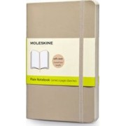Moleskine Soft Cover Khaki Beige Pocket Plain Notebook by Moleskine