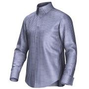 Maatoverhemd blauw/wit 55292