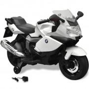 vidaXL BMW 283 детски акумулаторен мотор бял 6 V
