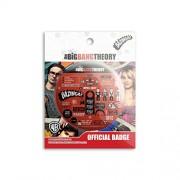 The Big Bang Theory - Infographic Badge licensed by warner Bros,USA