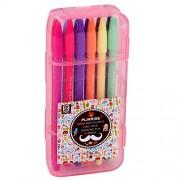 Comix Monami 3000 office Colored Pen Point Gel Ink Pen ,Set of 12 Assorted Colors