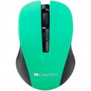 Mouse, CANYON CNE-CMSW1GR, Wireless, Green