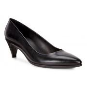 Pantofi business dama ECCO Shape 45 Pointy Sleek (Negri)
