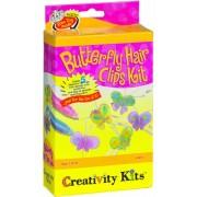 Creativity For Kids - Cfk1457 - Kit De Loisirs Créatifs - Mini-kit De Barrettes Papillons