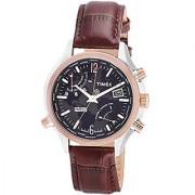 Timex Quartz Black Round Men Watch T2N942