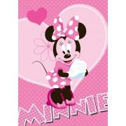 AW Covor pentru copii 95x133 cm cu imprimeu Minnie flower