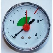 Géniusz 0-4 bar hátsós manométer