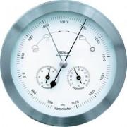 Analóg időjárásjelző állomás rozsdamentes acél Fischer 53417 (641540)