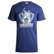 AFL Mens Printed Logo Tee Kangaroos [Size:2XL]