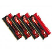 16 GB DDR3 PC3-19200 2400MHz TridentX série CL10 (10-12-12-31) Quad Channel kit