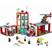 Set Constructie Lego City Remiza De Pompieri