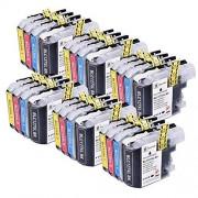 PerfectPrint 24 PerfectPrint Compatible Cartouche d'Encre remplacer LC-125 LC-127 pour Brother DCP-J4110DW MFC J4410DW J4510DW J4610DW J4710DW