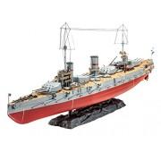 Revell 05137 - Russian WWI Battleship Gangut Kit di Modello, in Plastica, in Scala 1:350
