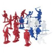 54mm American Revolution Battle of Yorktown Figure Playset (34pcs) (Bagged) Playsets