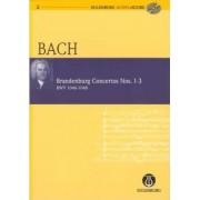 Brandenburg Concertos 1-3 BWV 1046/1047/1048 by Johann Sebastian Bach