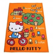 Tappeto HELLO KITTY, camera bambina misura 120X80 arancio Affare